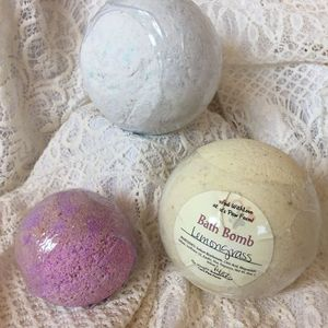 Bath Bomb 3.5 inch Custom Scented 3pk