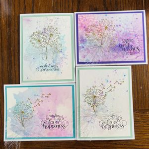 Dandelion Wishes Greeting Card 4 pack