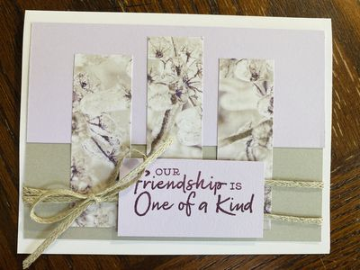 One of a Kind Friendship Greeting Card 4 pack