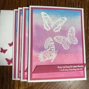 Reach For Your Dreams Greeting Card 4 pack