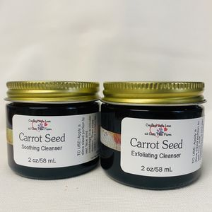 Carrot Seed Exfoliating Cleanser