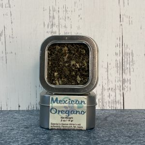 Oregano-Mexican Dried Spice Herb