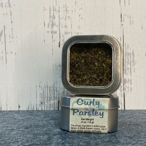 Parsley-Curly Dried Spice Herb