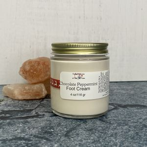 Chocolate Peppermint Foot Cream