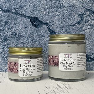 Dry Skin Lavender Clay Mask