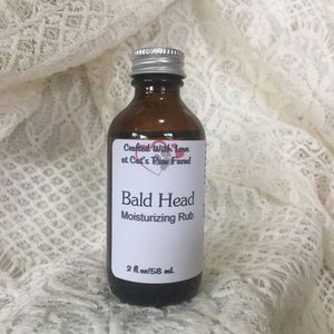 Bald Head Moisturizing Rub
