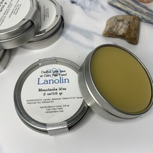 Moustache Wax - Lanolin