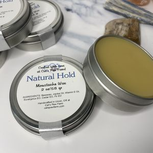 Moustache Wax - Natural Hold