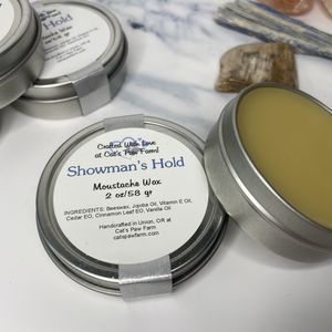 Moustache Wax - Showman Hold