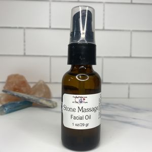 Stone Massage Facial Oil