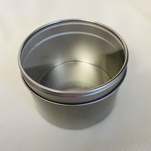 16oz Round Metal Tin with Clear Window