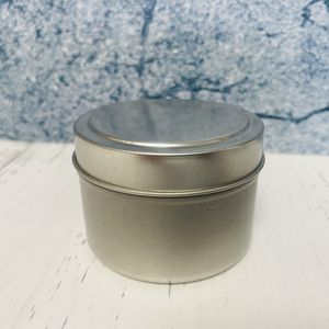 4oz Deep Metal Tin with Slip Top
