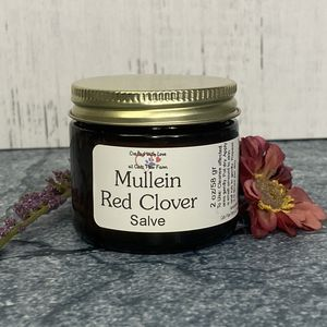 Mullein-Red Clover Gland Salve