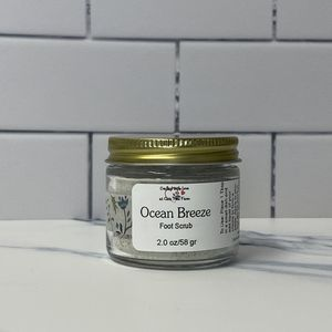 Exfoliating Ocean Breeze Foot Scrub