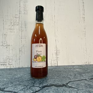 Plum Basil Shrub Syrup Concentrate