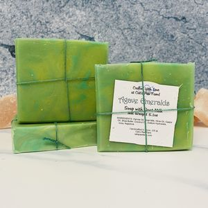 Agave Emeralds Scented Soap with Goat Milk