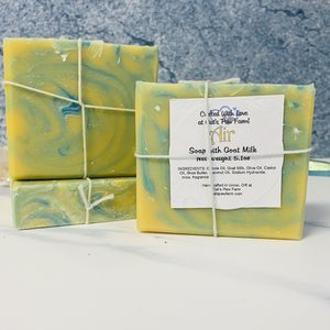 Air Scented Soap with Goat Milk