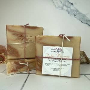 Amber Romance Scented Soap with Goat Milk