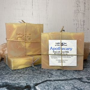 Apothecary Scented Soap with Goat Milk