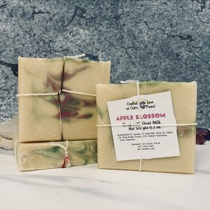 Apple Blossom Scented Soap with Goat Milk