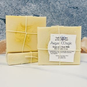 Argan Magic Scented Soap with Goat Milk