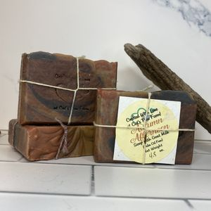 Autumn Afternoon Scented Soap with Goat Milk