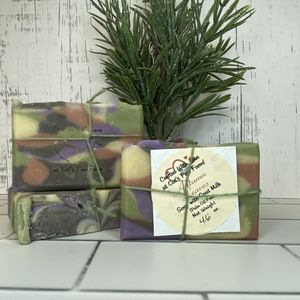 Autumn Leaves Scented Soap with Goat Milk