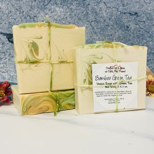 Bamboo Green Tea Vegan Soap