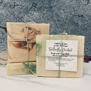 Butterfly Orchid Scented Soap with Goat Milk