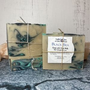 Black Sea Scented Soap with Goat Milk