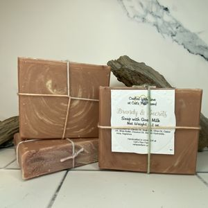 Brandy and Secrets Scented Soap with Goat Milk