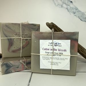 Cabin in the Woods Scented Soap with Goat Milk