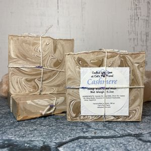 Cashmere Scented Soap with Goat Milk