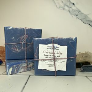 Celestial Sky Scented Soap with Goat Milk