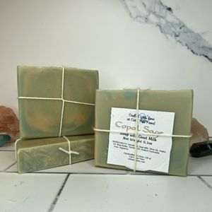Copal Sage Scented Soap with Goat Milk