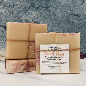 Coral Reef Scented Soap with Goat Milk