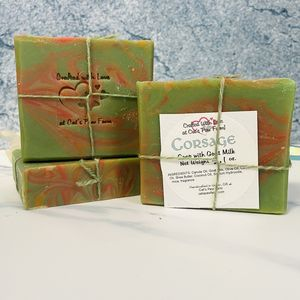 Corsage Scented Soap with Goat Milk