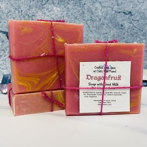 Dragonfruit Scented Soap with Goat Milk
