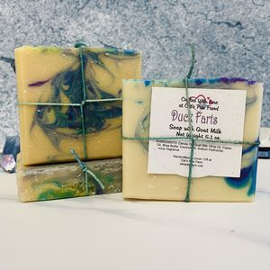Duck Farts Scented Soap with Goat Milk