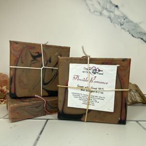 Fireside Romance Scented Soap with Goat Milk