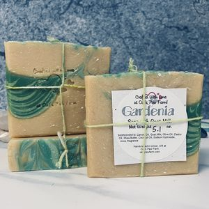 Gardenia Scented Soap with Goat Milk