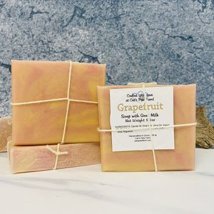 Grapefruit Scented Soap with Goat Milk
