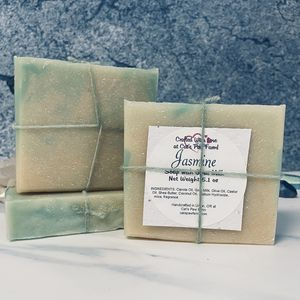 Jasmine Scented Soap with Goat Milk