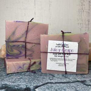 Juicy Grape Scented Soap with Goat Milk