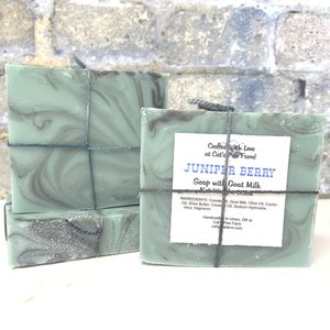 Juniper Berry Scented Soap with Goat Milk