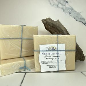 King in the North Scented Soap with Goat Milk