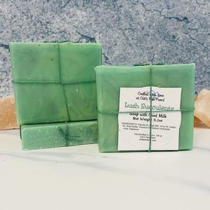 Lush Succulents Scented Soap with Goat Milk