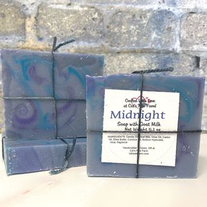 Midnight Scented Soap with Goat Milk