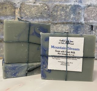 Mountain Stream Scented Soap with Goat Milk