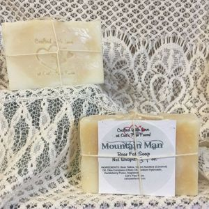 Mountain Man Scented Bear Fat Soap